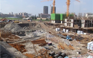 【恒信春秋府】 7月项目进度 地面施工