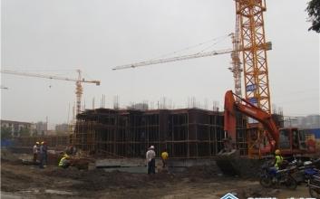 【荆沙人信城】 7月项目进度 地面施工
