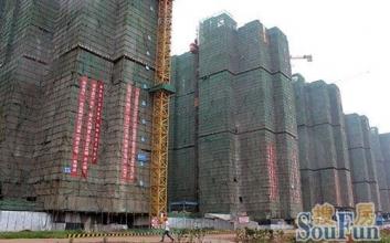 洋丰嘉园最新工程进度 一期项目已全部封顶